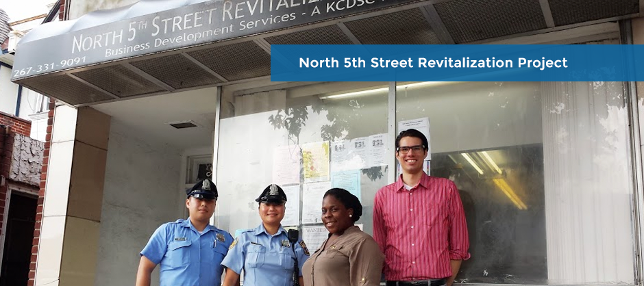 FP Slide: North 5th Street Revitalization Project
